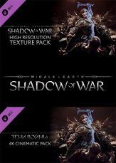 Middle-earth: Shadow of War [High Resolution Texture Pack + 4K Cinematic Pack] (2017) PC | DLC