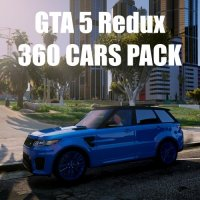 GTA 5 Redux 360 CARS PACK 1.0.944.2 & 1.0.877.1