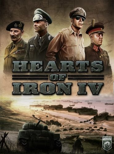 Hearts of Iron IV: Field Marshal Edition [v 1.4.2 + DLC's] (2016) PC | RePack от xatab