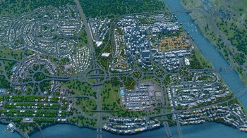 Cities: Skylines - Deluxe Edition [v 1.11.0-f4 + DLCs] (2015) PC | RePack от xatab