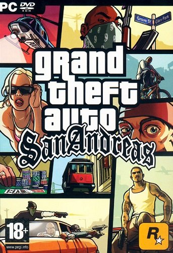 GTA / Grand Theft Auto: San Andreas - Real Cars 2014