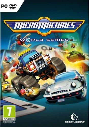 Micro Machines World Series (2017) PC | Лицензия