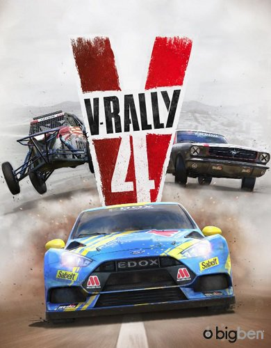 V-Rally 4: Ultimate Edition [v 1.03 + DLCs] (2018) PC | RePack от xatab