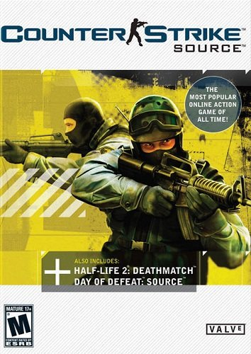 Counter-Strike: Source v34 (2004) PC | RePack by dEf0lT