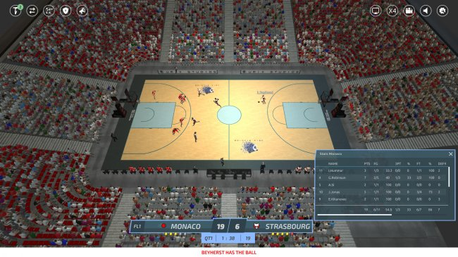 Pro Basketball Manager 2019 (2018) PC | Лицензия