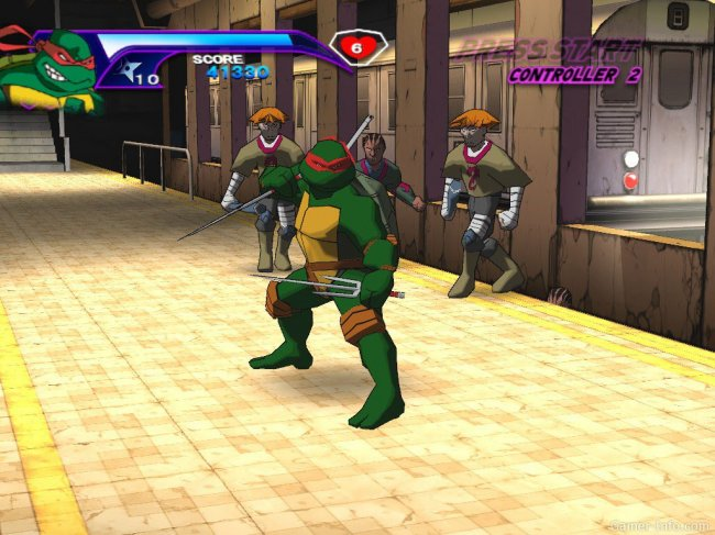 Teenage Mutant Ninja Turtles (2003) PC | Лицензия