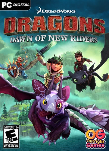 DreamWorks Dragons: Dawn of New Riders (2019) PC | Лицензия