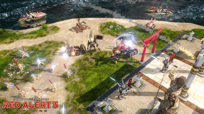 Command & Conquer: Red Alert 3 — Uprising (2009) PC | Repack от xatab