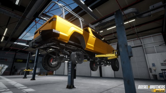 Diesel Brothers: Truck Building Simulator (2019) PC | Лицензия